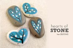 Simple Painted Rocks | ... stones, and when I started noticing the trend of painting or writing