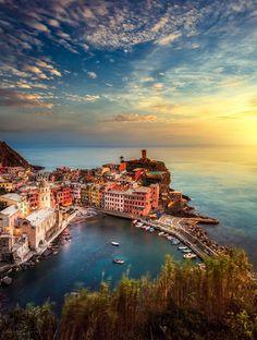 Les plus belles destinations d'Italie - Vernazza