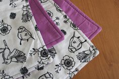 Baby Blanket Bird Blanket by TheWakingHours on Etsy