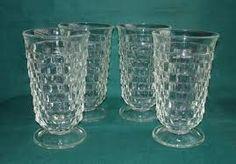 Fostoria glasses for tea