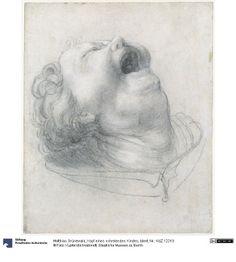 Matthias Grünewald, Kopf eines schreiendes Kindes (1515-20, Staatlichen Museen zu Berlin)