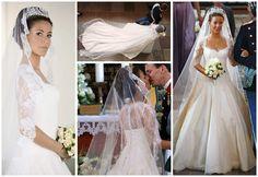 Kaunein kuninkaallinen morsian -äänestys: Prinsessa Marie - Princess Marie Wedding gown