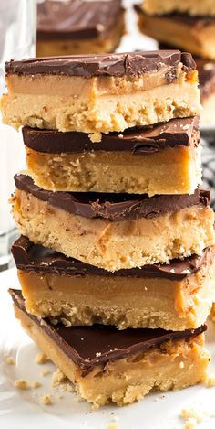 These No-Bake Millionaire's Shortbread Bars are easy to make, require no baking, and are full of caramel and chocolate.