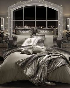 If you are tired of your master bedroom, you can incorporate a few changes that make a big difference. Romantic master bedroom interior design ideas can include updating your wall finishes with a two-. Romantic Bedroom Design, Master Bedroom Design, Master Suite, Bedroom Designs, Master Bath, Bedroom Decor For Couples Romantic, Master Bedrooms, Glam Bedroom, Home Decor Bedroom