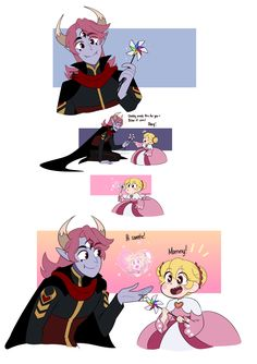 I'm still but this is adorable! Star E Marco, Anime Manga, Anime Art, Otaku, Character Art, Character Design, Phineas Y Ferb, Splatoon Comics, Star Force