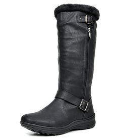 Amazon.com | DREAM PAIRS Women's Winter Fully Fur Lined Zipper Closure Snow Knee High Boots | Knee-High