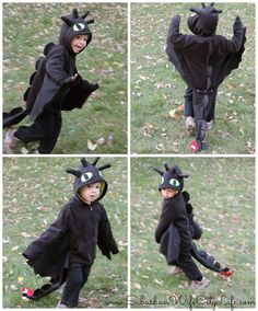 It's costume time in my house and since I love a good DIY I thought I would share a preview of this years costume.  Here's Camden as Toothless from How to Train your Dragon. When it comes to a DIY costume I'm all about using a sweatshirt for the base and just adding some key … … Continue reading →