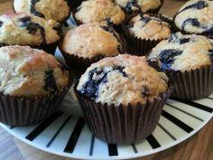 Mmmm blueberry muffins