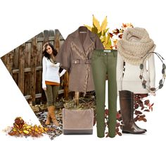"""so autumn"" by sagramora ❤ liked on Polyvore"