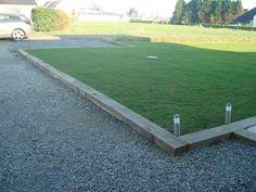 """Résultat de recherche d'images pour """"jardin niveau bordure traverse bois"""""""