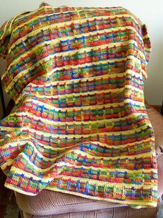 Ravelry: Seal's Brighter Days Throw