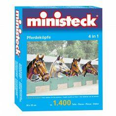 Ministeck Paardenhoofden, 4in1.