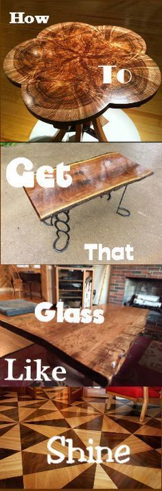 Watch The Video To Learn How To Get That Glass Like Shine On All Your Woodworking Projects : vid.staged.com/2H4s #woodworking