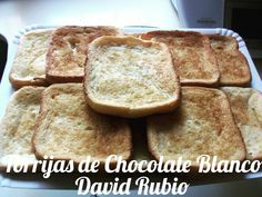Chocolate Blanco, French Toast, Deserts, Cooking Recipes, Bread, Meals, Breakfast, Food, David