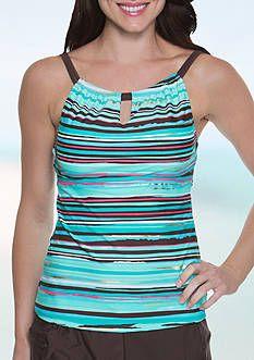76eab88b49 Beach Diva Paisley Charm Molded Tankini Top | swimoutlet | Tankini ...
