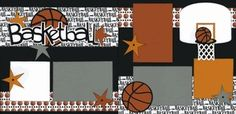 basketball scrapbooking