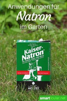 Natron ist eine vielseitige Allzweckwaffe im Haushalt und für die Gesundheit. Aber auch im Garten kann das weiße Pulver gute Dienste erweisen!
