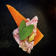 Going all the way with this pâté! Aged mimolette and fresh sage is the move with this one