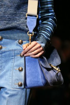 Jean genie. Gucci Spring 2015 Ready-to-Wear collection.