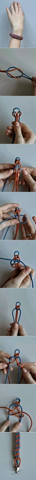 My DIY Projects: Diy Handmade Bracelet