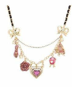 Betsey Johnson Imperial Heart Necklace #accessories  #jewelry  #necklaces  https://www.heeyy.com/suggests/betsey-johnson-imperial-heart-necklace-multi/