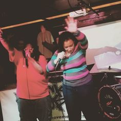 @shalomthepoet  and @aislingpeartree  #wreckinshop at #livefromtheunderground #HipHop #turntablism #music #rap #culture #community by wreckshop101 http://ift.tt/1HNGVsC