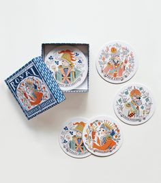 Royal Cocktail Coaster Set