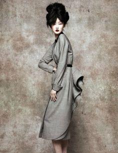 Asian inspired fashion Ji Lili for L'Officiel China by Sun Jun
