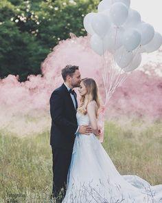 """Polubienia: 134, komentarze: 3 – Alicja Szczepocka (@alicjaszczepocka) na Instagramie: """"Wspominki 😊 #miłość #love #happy #wedding #slubnaglowie #ślub #balony #panmłody #sukniaslubna…"""""""