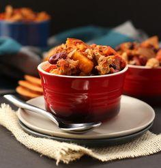 Sweet Potato Turkey Chili. YUM.