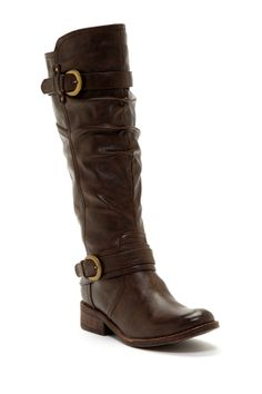 Dennisa Ruched Shaft Boot