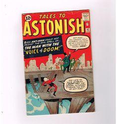 TALES TO ASTONISH #42 Grade 5.5 Silver Age find starring Ant-Man!  http://www.ebay.com/itm/TALES-ASTONISH-42-Grade-5-5-Silver-Age-find-starring-Ant-Man-/301509196400?roken=cUgayN&soutkn=EVYMhj