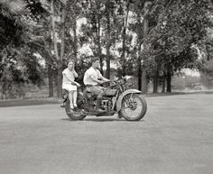 1929 Hendersen Motorcycle