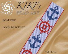 Bead loom pattern Arrowheads ethnic inspired by KikisBeadArts Loom Bracelet Patterns, Bead Loom Patterns, Beaded Jewelry Patterns, Beading Patterns, Bead Loom Bracelets, Brick Stitch, Beads And Wire, Loom Beading, Bead Weaving