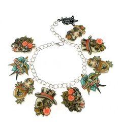 Belldandy.fr: bracelets gothique, victorien, retro pin-up, lolita, punk, Jupe, robe, veste, legging, corset