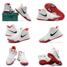 quality design 2245d ddc5e Men Really Cheap Kyrie 3 III White University Red Black. hanen huang · New  Basketball Shoes