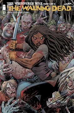 """Walking Dead"" Debuts 6 Epic, Interlocking Arthur Adams Variant Covers"