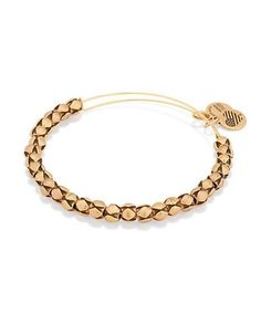 Alex And Ani Traveler Beaded Bangle Bracelet Women's Gold