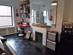 more urban home music studio & probably one we might actually be able to afford.