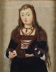 Margaret of Saxony, Duchess of Brunswick-Lüneburg,c. 1495