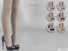 The Sims Resource: Madlen Kritias Shoes by MJ95 • Sims 4 Downloads