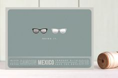 Shades Foil-Pressed Save the Date Cards by Olive a... | Minted