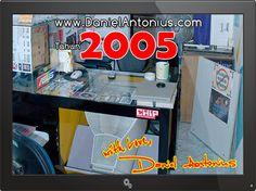 Ruang Kerja Pribadi Daniel Antonius Tahun 2005
