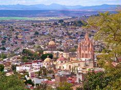 Beautiful San Miguel de Allende, Mexico
