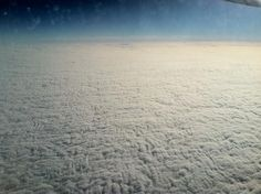 """via @John Powers: """"Not too long ago no one had ever seen an electron microscope image of skin, or clouds from above."""""""
