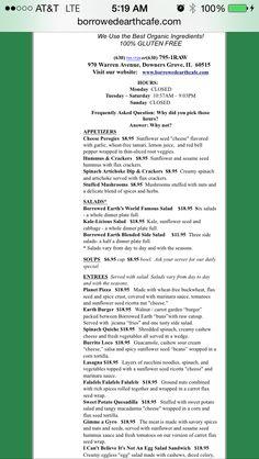 Borrowed Earth cafe - downers grove