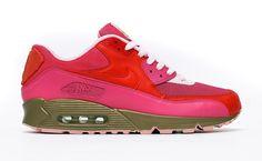 "Custom kicks: Nike Air Max 90 ""Pink Kid Robot"" by Dank Customs"