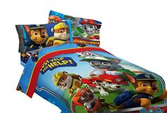 Nick Jr Paw Patrol Ruff Ruff Rescue Microfiber Comforter, Full