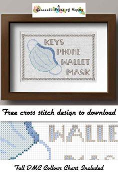 Geek Cross Stitch, Cross Stitch Quotes, Funny Cross Stitch Patterns, Cross Stitch Letters, Cute Cross Stitch, Cross Stitch Designs, Free Cross Stitch Charts, Free Charts, Cross Stitching