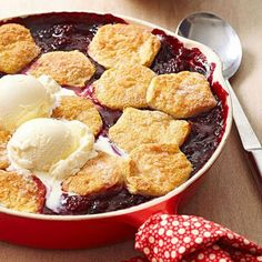 Good-for-you blueberries give a fresh taste to pies, muffins, ice cream and other treats with our blueberry recipes.